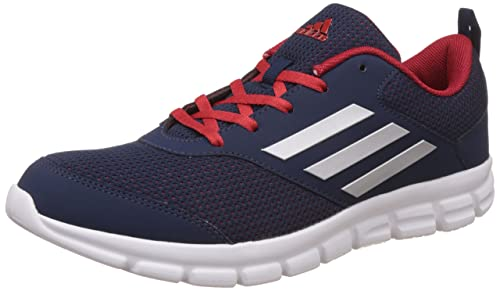 buy online 6a6dc a0655 Adidas Mens Marlin 7.0 M Conavy, Silvmt and Scarle Running Shoes - 10 UK