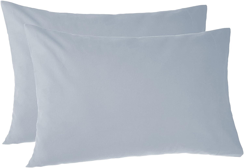 Pinzon 170 Gram Flannel Pillowcases - Standard, Dusty Blue PZ-FLAN-DP-SPC