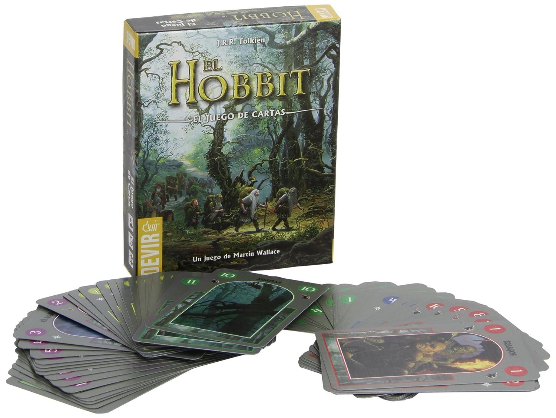 Devir-El Hobbit, el Juego de Cartas. (BGHOBMN)