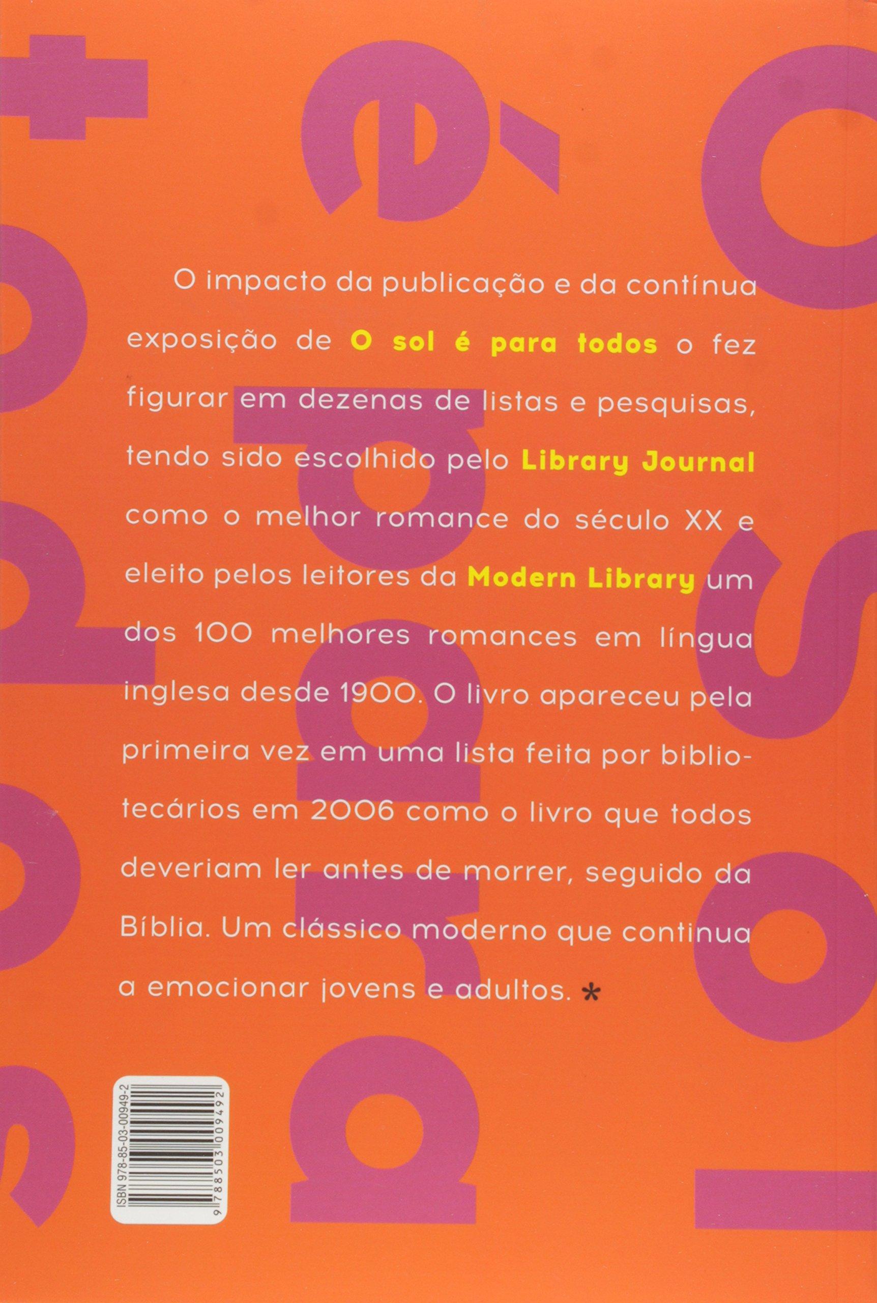 O Sol é Para Todos Livros Na Amazon Brasil 9788503009492