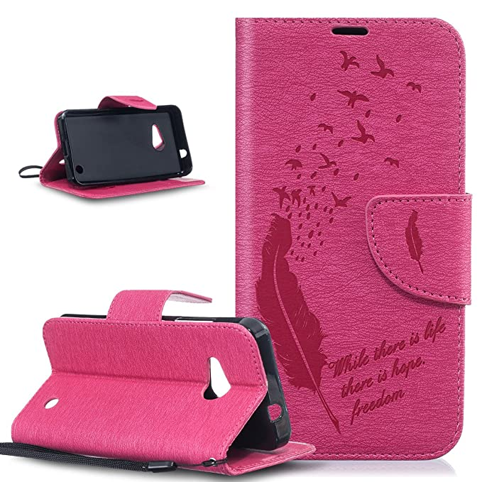 Funda Microsoft Lumia 550, Microsoft Lumia 550 Carcasa, ikasus® Microsoft Lumia 550 Funda Carcasa [PU Leather] [shock-absorption] protectora Cartera Carcasa ...
