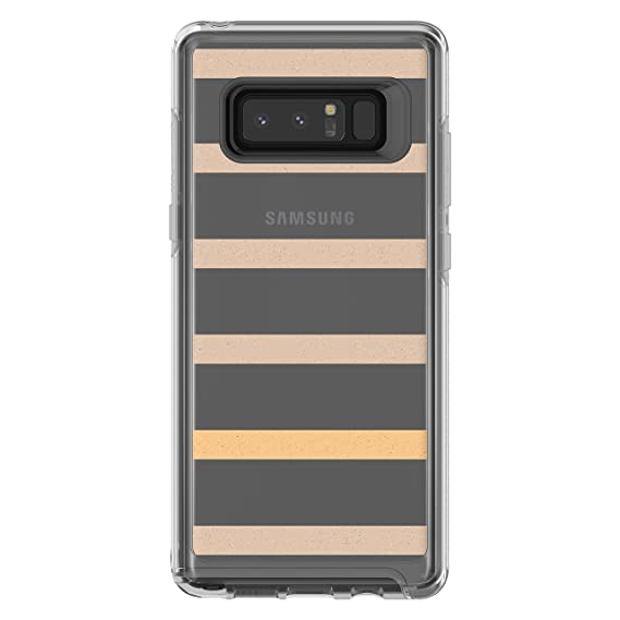 best sneakers 3d984 e39db OtterBox SYMMETRY CLEAR SERIES Case for Samsung Galaxy Note8 - Retail  Packaging - INSIDE THE LINE (CLEAR/INSIDE THE LINE GRAPHIC)