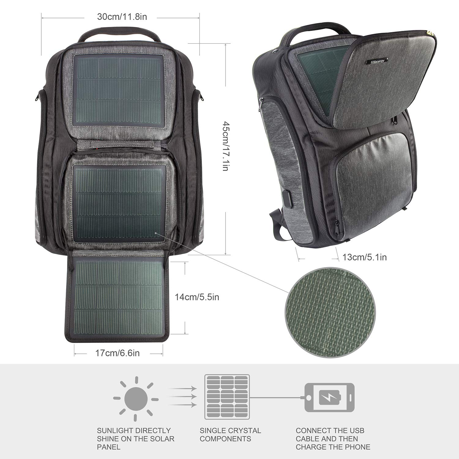Solar Laptop Backpack – Charge Your Equipment With Sunlight