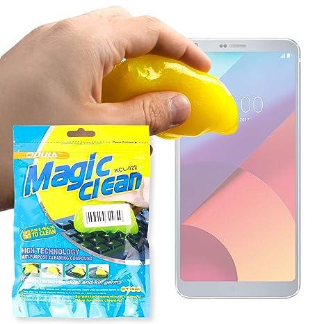 DURAGADGET Potente Gel Limpiador para Smartphone LG 306G, LG Aristo, LG G6, LG Rebel 4G, LG X Power 2: Amazon.es: Electrónica