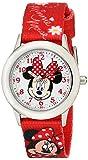 Disney Kids' W001917 Minnie Mouse Analog Display