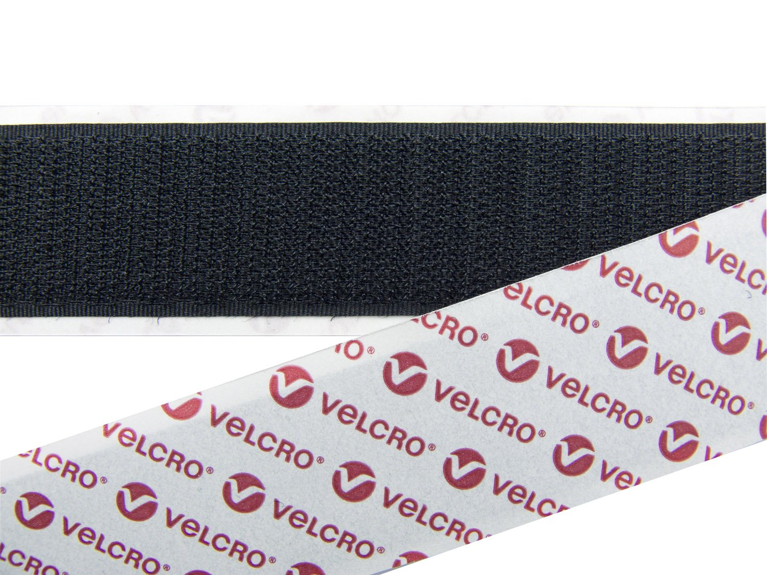VELCRO® BRAND 50mm BLACK SELF ADHESIVE HOOK /& LOOP STICKY BACK TAPE PS14