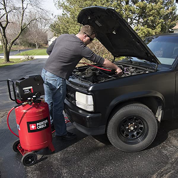 Porter Cable PXCMF220VW is one of the best 20 gallon air compressor on the market
