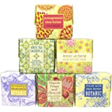 Bundle of 6 Greenwich Bay Trading Co. Soaps - 1.9oz Soaps in The Following Scents: Fresh Milk, Lemon Verbena, White Tea Calendula, Lavender Chamomile, Pomegranate Shea Butter, and Passion Flower and Olive Oil