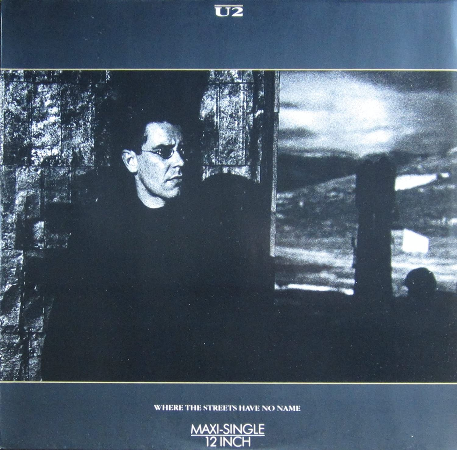 U2 - Where the streets have no name / Vinyl Maxi Single