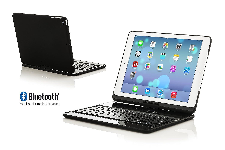 Forefront Cases® Nueva Funda para Teclado Bluetooth Inalámbrico para Apple iPad Air: Amazon.es: Electrónica