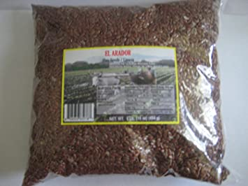 Linaza Flax Seed Whole Pack of 16 Oz 1 Lb