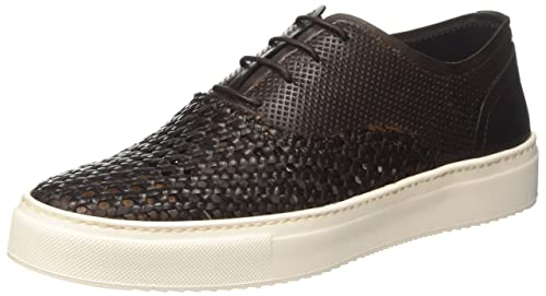 Docksteps Men's Gold Low Trainers brown Size: 8