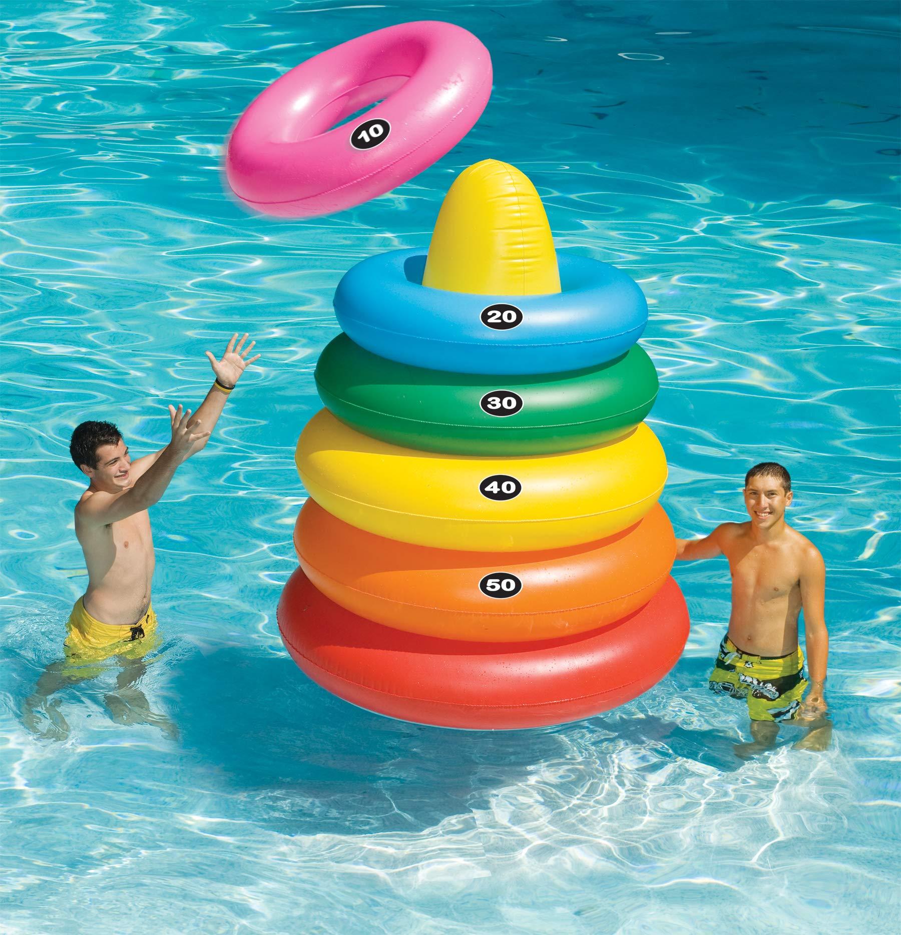 Swimline Giant Ring Toss Game by Swimline