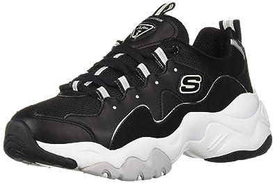 Skechers D'Lites Play On Sneaker schwarz Damen Sneaker