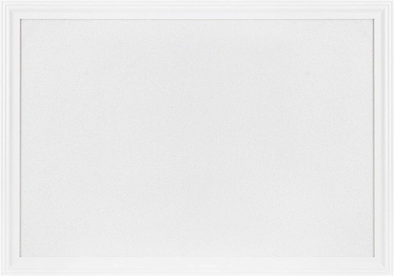 "White Cork Board with White Wood Frame, 30"" x 20"" | Bulletin Board | Pin Board | Memo Board | Corkboard | Vision Board Supplies | Cork Board | Cork Board Bulletin Board | Cork Boards | Bulletin Boards"