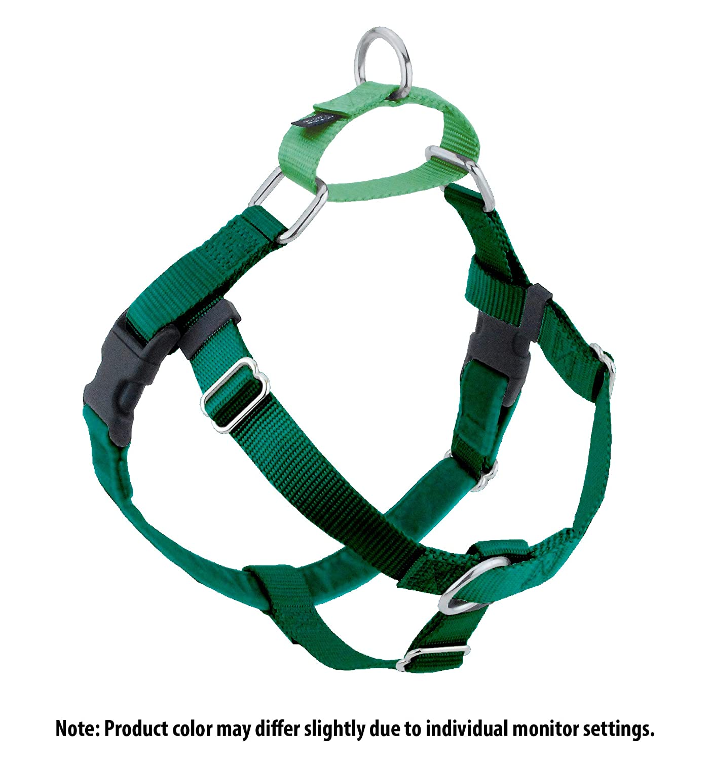 Kelly Green X-Small Kelly Green X-Small 2 Hounds Design HN XS KG Freedom No-Pull Harness Only, (5 8  Wide), Kelly Green, X-Small