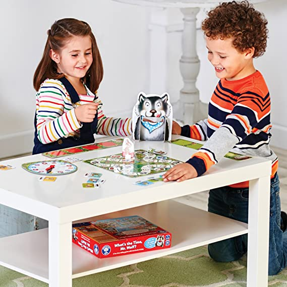 Best Orchard Toys What/'s the Time Mr Wolf Game
