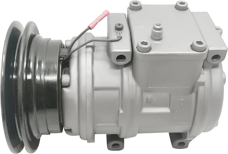 RYC Remanufactured AC Compressor and A//C Clutch EG387
