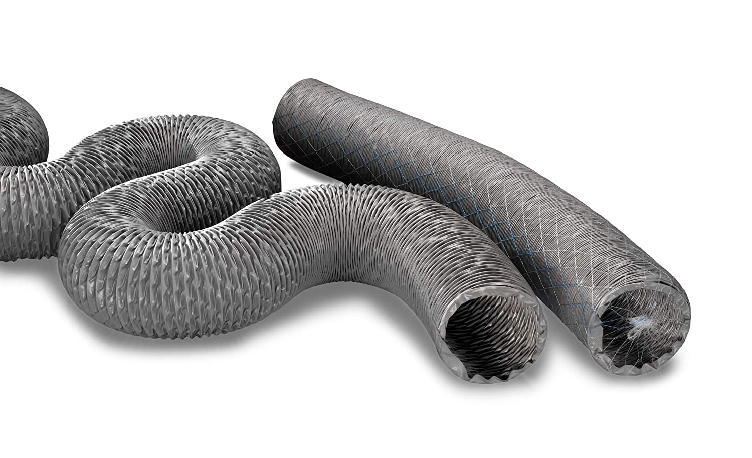 6 In Ducting Hose ID Poly Film L 25 ft