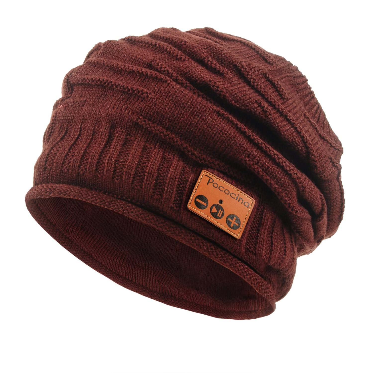 Pococina Upgraded 4.2 Bluetooth Beanie Music Hat