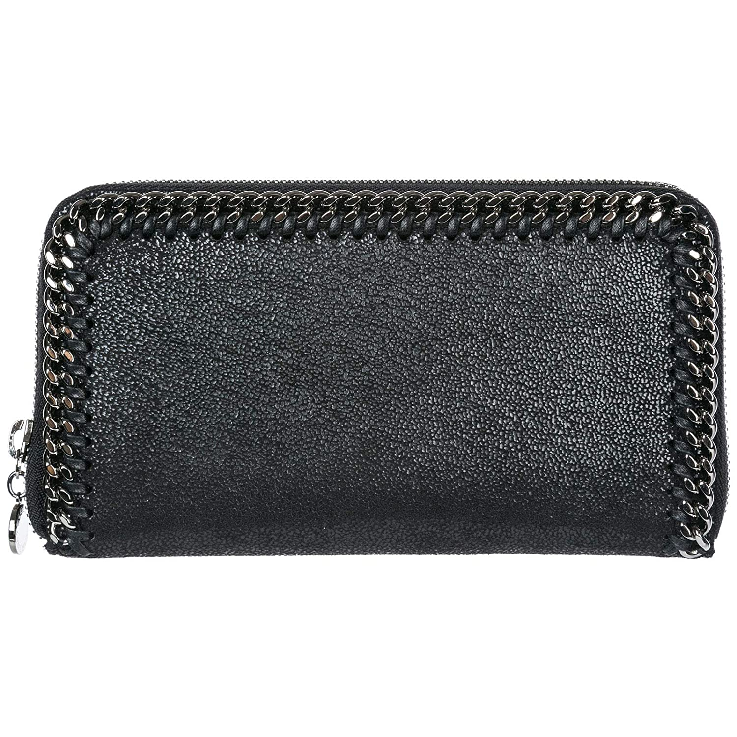 Stella McCartney Continental Falabella billetera mujer nero