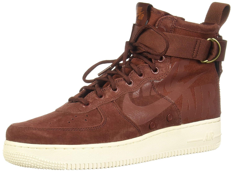 Mehrfarbig (Pueblo braun Pueblo braun Dark Russet 202) Nike Herren Sf Af1 Mid Fitnessschuhe, Rot