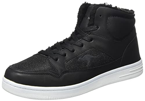 Kangaroos Kr-Run 5, Zapatillas Unisex Adultos, Negro (Jet Black 5001), 41 EU
