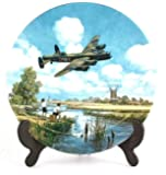 Royal Doulton Lancaster Low Overhead Heroes of the Sky plate CP669