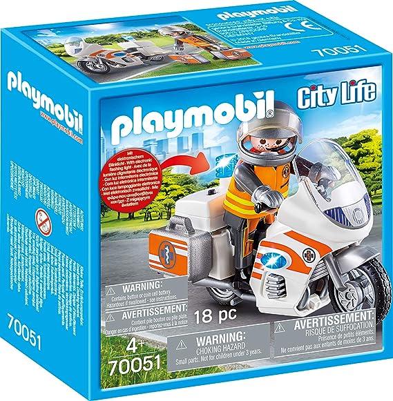 Playmobil City Life Set 2019 - Juego de accesorios para bicicleta ...