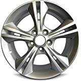 "New Ford Focus 16 Inch Silver Aluminum Wheel OEM Factory Replica Rim (16x7 5x108mm or 5x4.25"" Offset of 50mm Center Bore of 63.4mm)"