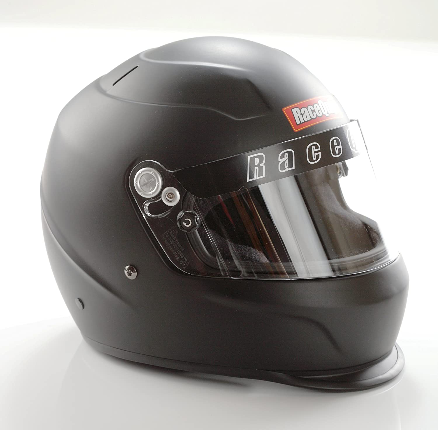 Snell SA-2015 Rated RaceQuip 273112 Gloss White Small PRO15 Full Face Helmet