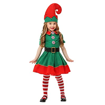 Toddler Holiday Elf Costume: Clothing