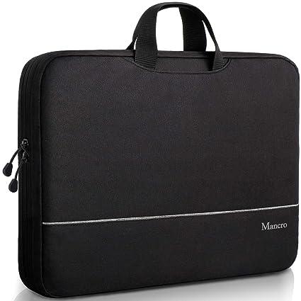 7f9f072136b6 Slim Laptop Bag,15.6 inch Laptop Case Briefcase for Men Women, Casual TSA  Shoulder