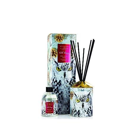 Ashleigh & Burwood Wild Things Navidad Aromático de lujo cerámica Difusor Varillas - Búho Noche Largo