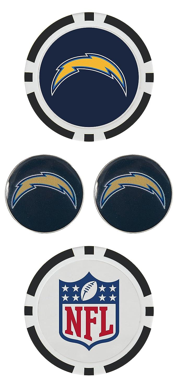 NFLボールマーカーセット Los Angeles Chargers Los Angeles Chargers B079VST1BF