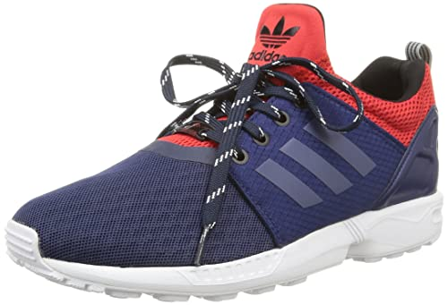huge selection of 25e53 55ee3 adidas ZX Flux NPS updt, Men's Trainers, Bleu (Dark Blue ...