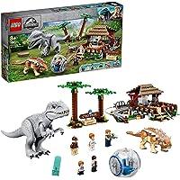 LEGO Jurassic World Indominus rex vs. Ankylosaurus 75941 geweldig dinosaurus bouwspeelgoed voor kinderen (537 onderdelen…