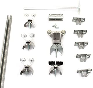 product image for KH Industries FTCT-FL-KIT30 C-Track 30' Festoon Kit for Flat Cable Trolley Car System