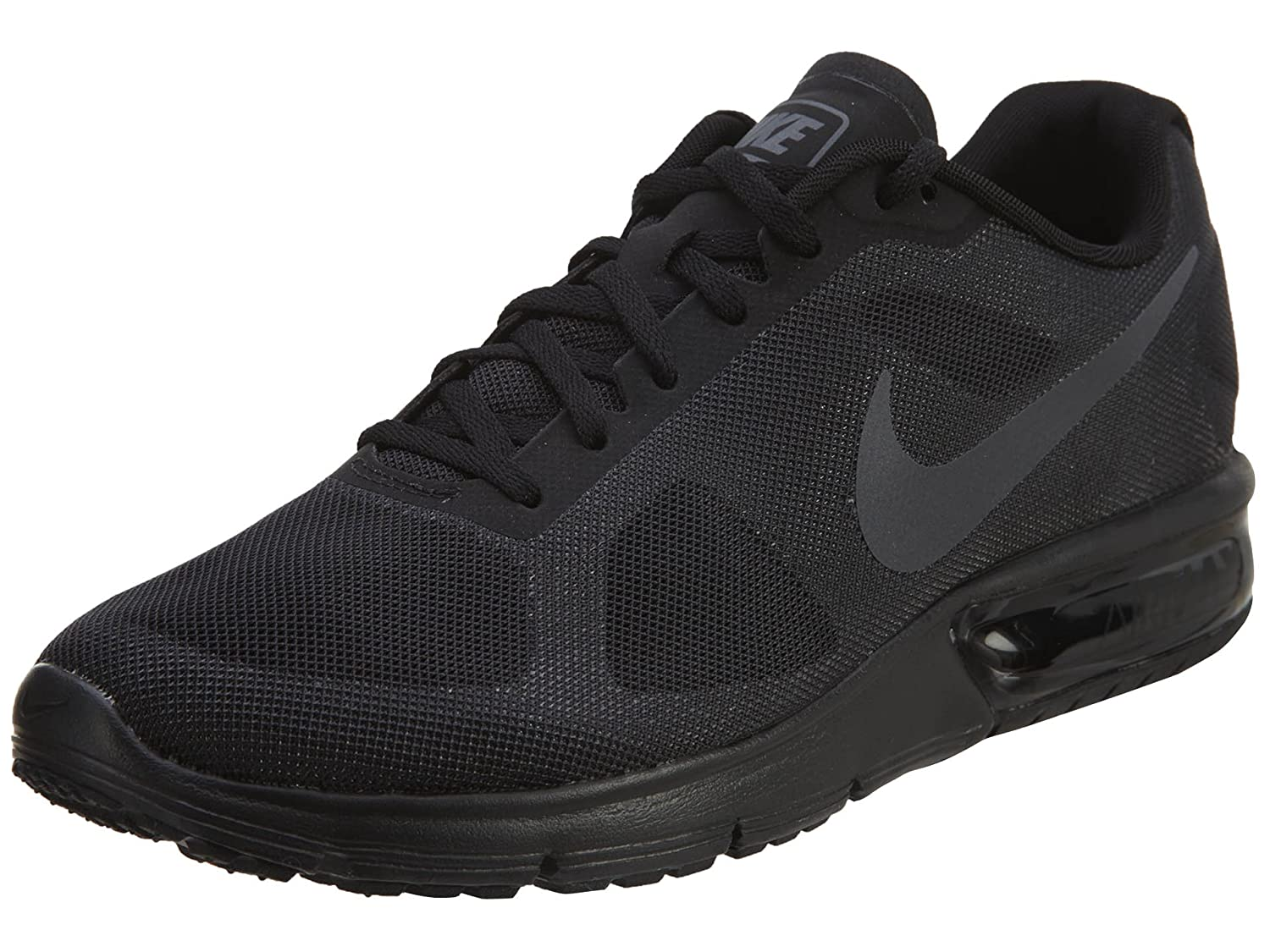 NIKE Men's Air Max Sequent 2 Running Shoe B00709M2NM 12 D(M) US|Black/Dark Grey
