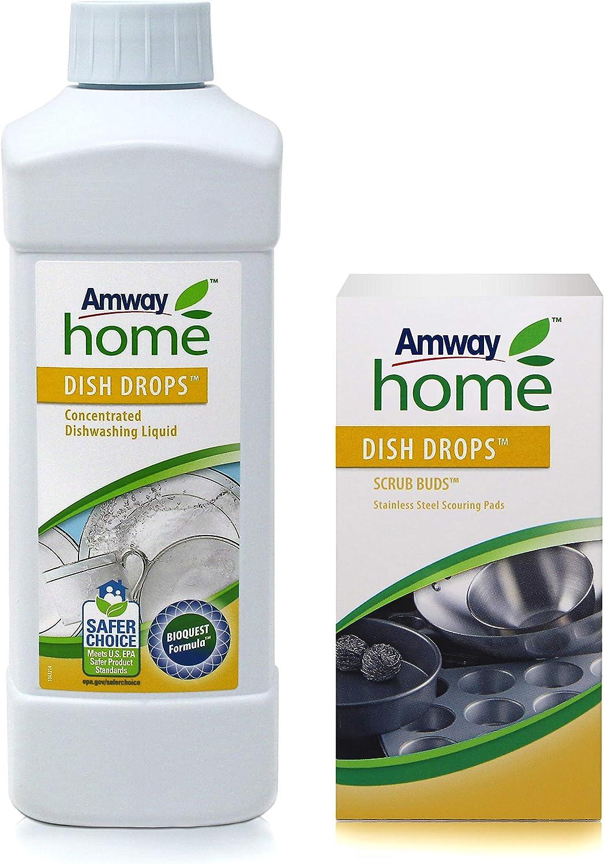 Amway líquido lavavajillas concentrado Dish Drops 1 litro + Amway ...