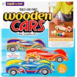 Made By Me Build & Paint Your Own Wooden Cars Horizon Group USA