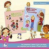 80 Comptines A Mimer Et Jeux De Doigts / 60 Comptines Pour La Danse Et L'Eveil Corporel (Coffret 2 CD)