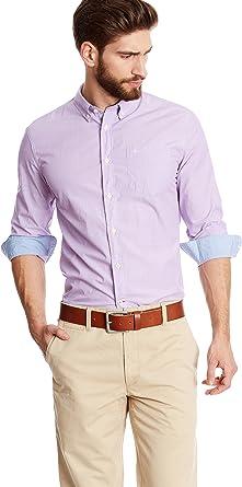 dockers Camisa Hombre 60s Lila: Amazon.es: Ropa y accesorios