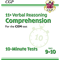 New 11+ CEM 10-Minute Tests: Comprehension - Ages 9-10 : superb eleven plus preparation from the revision experts (CGP…