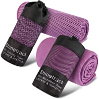 2-Pack Shinetrack Quick-Dry Gym Towel (multiple color)