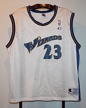 NBA Trikot Jersey-Camiseta de Baloncesto Michael Jordan Washington Wizards L: Amazon.es: Deportes y aire libre