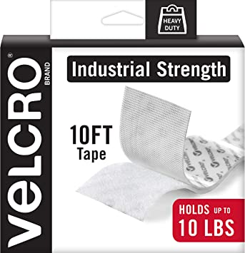 "Industrial Strength Extreme Sticky Pressure Adhesive VELCRO Tape 1/"" Hook /& Loop"
