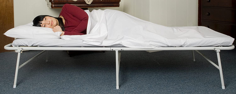 ibed Box Hideaway Gästebett, metall, weiß, Einzelbett: Amazon.de ...