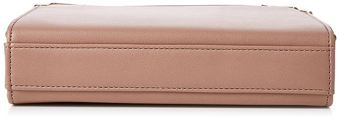 Womens Boxy Cross Body Clutch Bag, Beige (Mink), 22.5x16x6 cm (W x H x L) Dorothy Perkins