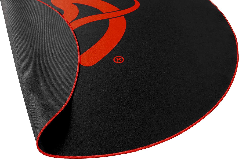 Black//Red Arozzi Zona Floor Pad